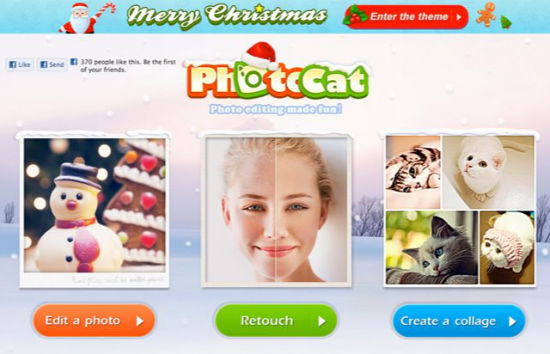 Photocat: Photo Editor Not Only For The Festive Season