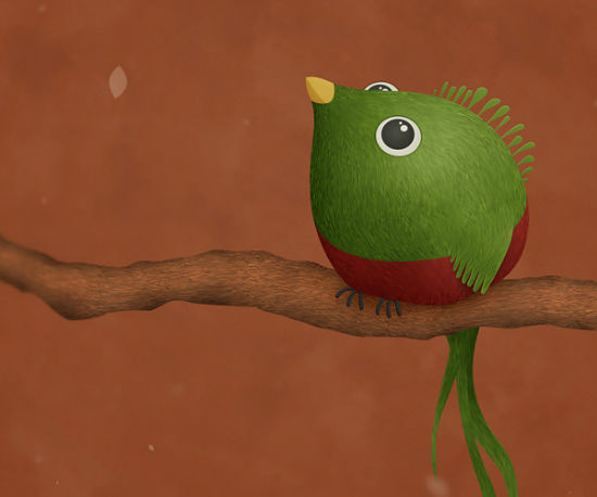 Title: Little Quetzal Creator: Vlad Source: Vladstudio.com