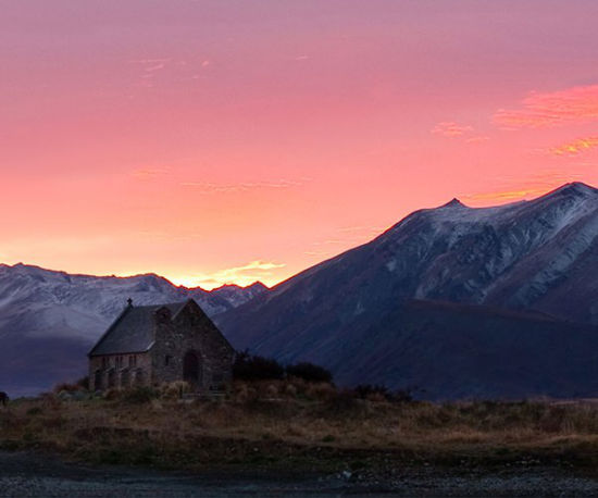 Title: Tekapo Dawn