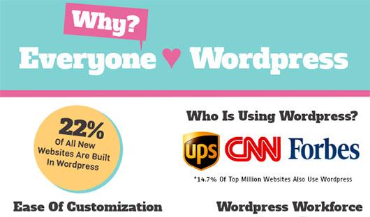 why everyone love wordpress