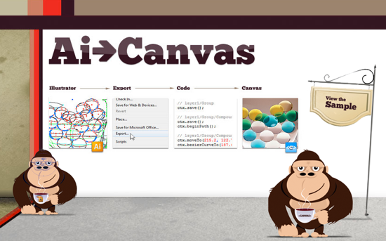 AI -> Canvas: Export Fully Functional HTML5 Canvas From Within Adobe Illustrator