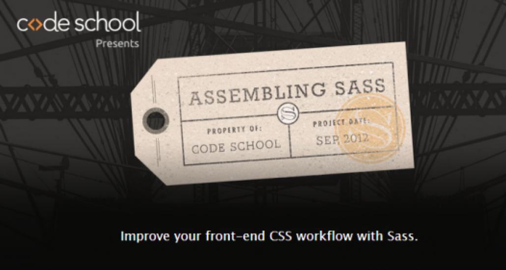 codeschool-sass-frontpage