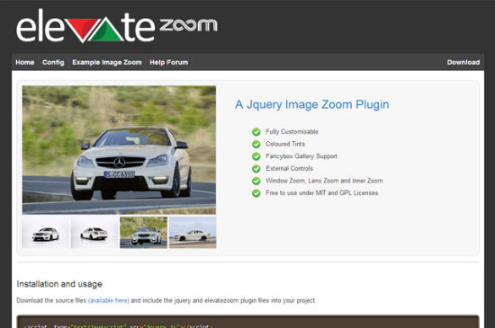 Close Up: Decent Zoom Effects with elevateZoom for jQuery
