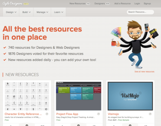 Agile Designers: A Collection of Resources for Web Designers