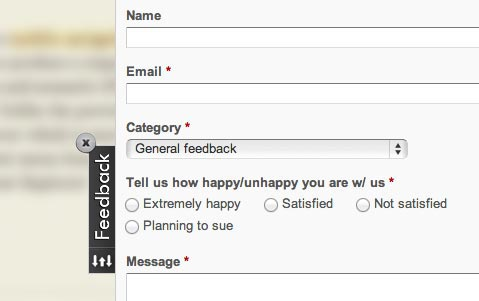 WebEngage: Feedback Live On Site