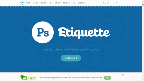 Photoshop Etiquette: Basic Knowhow for Designing The Web Using Photoshop
