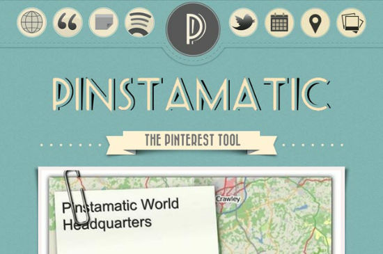 Pinstamatic Pimps Pinterest, Allows for Sharing of Websites, Texts and Places