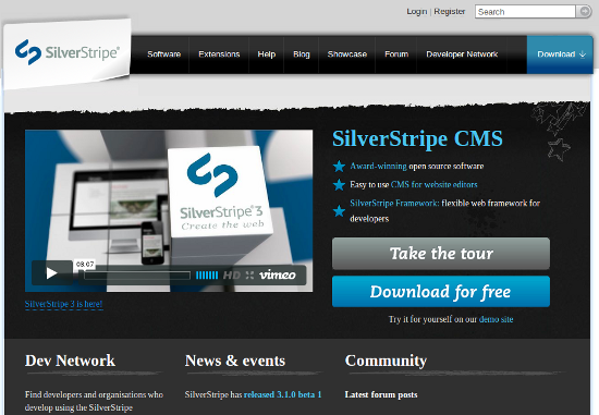 When To Build a Site with SilverStripe CMS (and when not to)