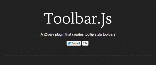 Toolbar.js for jQuery and Bootstrap: Flexible Toolbars in iOS Style