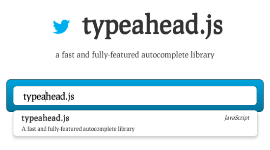 Typeahead.js for jQuery – Twitter's Flexible Autocomplete