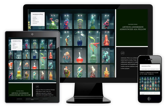 Let It Flow - 26 Awesome Examples of Responsive Web Design - noupe