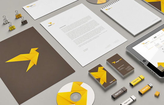 44 corporate identities plus how to create your own using
