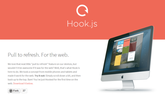 Hook.js für jQuery – Pull To Refresh For The Web