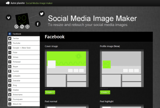 Social Media Image Maker: Photo-Editing One-Stop-Shop for Social Media Networkers