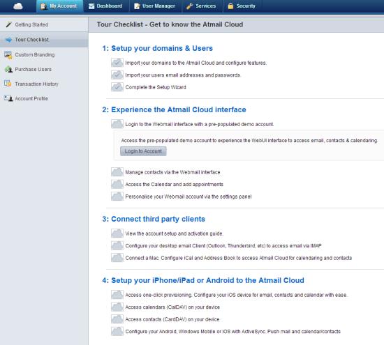 Atmail Cloud   Tour