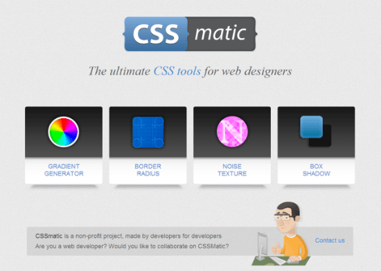 "CSS Matic – ""What You See Is What You Get"" for CSS Developers"