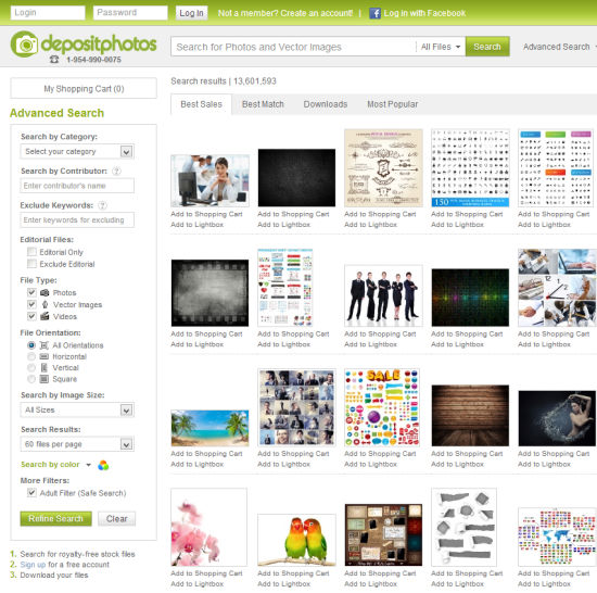 Depositphotos.com | Search Files