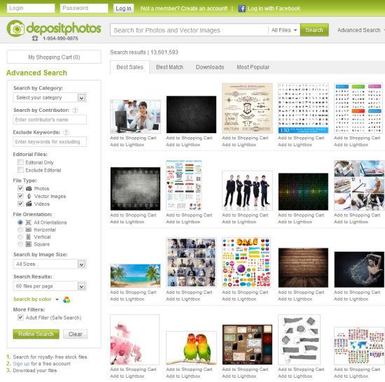 Depositphotos.com   Search Files