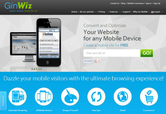 The Future Is Now: GinWiz Mobilizes Your Website [Review]