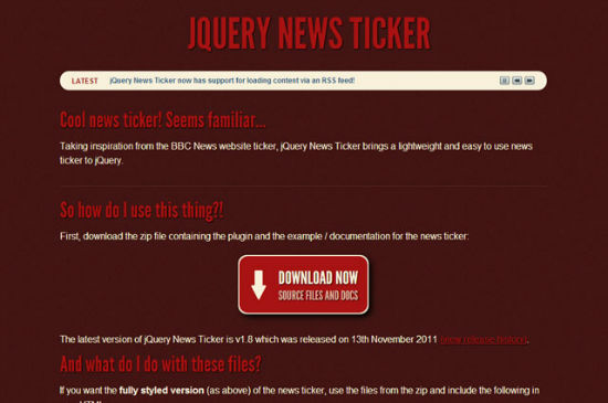 jquerytexteffekte_newsticker-w550