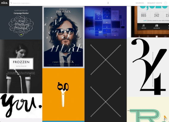 Instant Inspiration: Niice.co, a Brand-new Search Engine for Designers Sparks Your Creativity