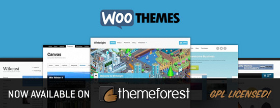 WooThemes now available at ThemeForest*Image Credit
