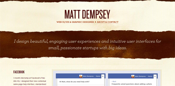 Learning by Pulling Apart: An Interview with UI/UX Designer Matt Dempsey