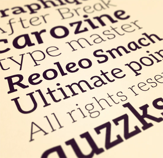 Maximum Quality: 44 Free Fonts for Creative Designers