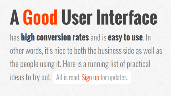 The Perfect User Interface: GoodUI Equips Web Designers with Solid Marketing Knowledge