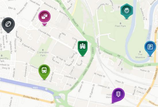 Map icons designer 200 map symbols plus 10 location pins for Map designer free