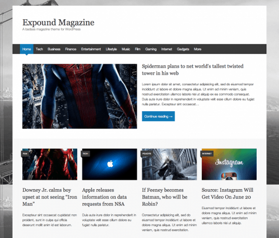 13 Free WordPress Themes, Released in June 2013