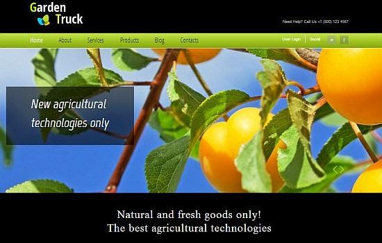 GardenTruck Html5 Template