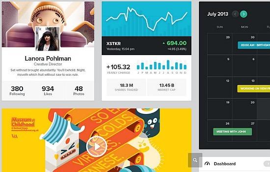 UI kit for web designers
