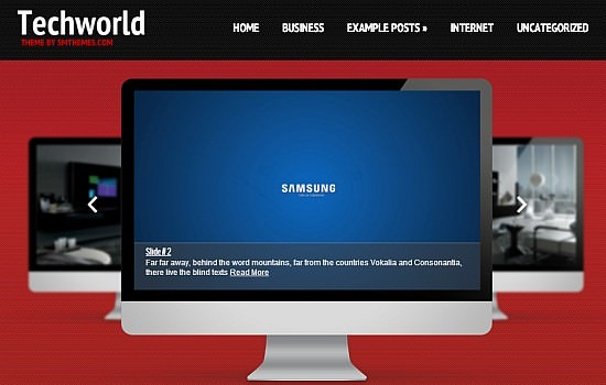 TechWorld Theme