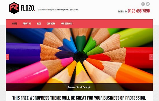 FloZo WordPress theme