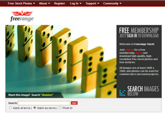 freerangestock-homepage