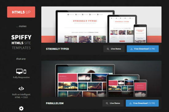 HTML5up: 14 Totally Free and Modern Templates Made With HTML5