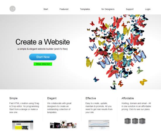 IM-Creator: Free HTML5 Homepage Builder for John Q. Public