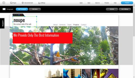IM Creator: Noupe's new website?