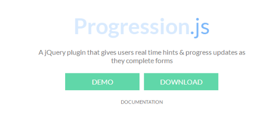 Progression.js: jQuery Plugin Takes the Pain out of Inescapable Web Forms