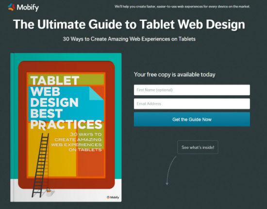 Tablet Web Design Best Practices: Free Ebook Offers Loads of Useful Tips