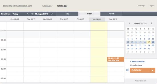 afterlogic-calendar