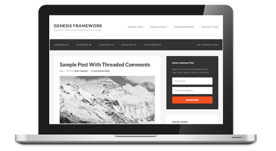 Genesis 2.0 — This WordPress Framework Manages To Impress