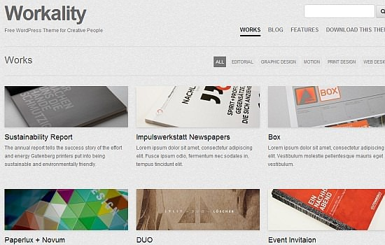 Highly sophisticated wordpress theme1 2013 Yazının En İyi Ücretsiz Wordpress Temaları