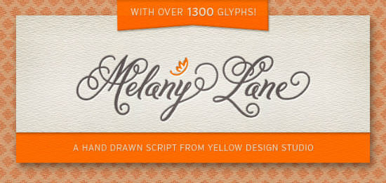 Melany Lane Script Bargain: One of the Most Beautiful Fonts Out There