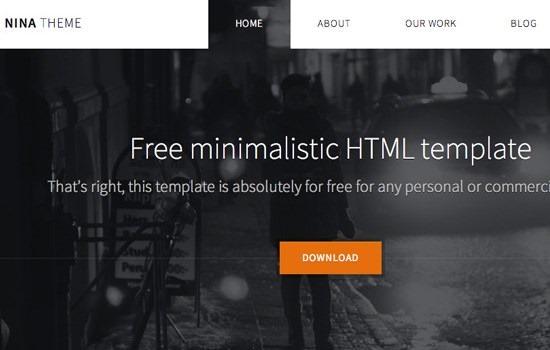 NINA Theme HTML