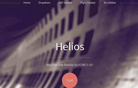 Responsive Website Template