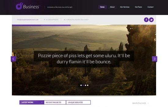 PSD Website Design