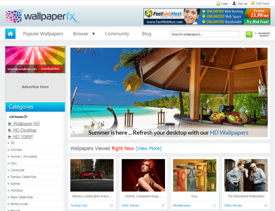wallpaperFX