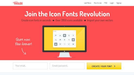 fontastic-homepage